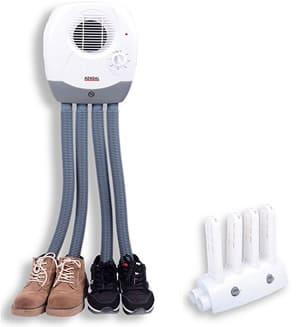 Ski boot heater