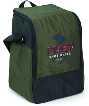 Travel bag for boot dryer