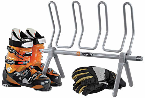 Electric boot drying rack