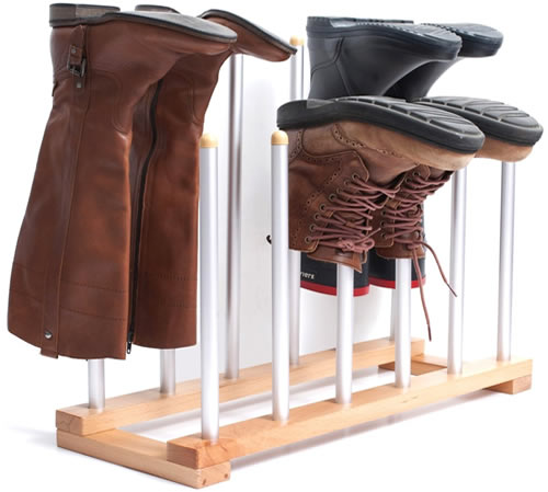Innoka 6 pair boot drying rack
